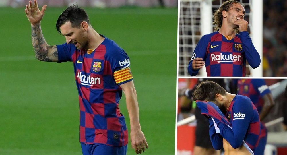разочарование за Барселона